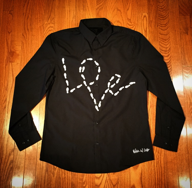 "Image of ""Walk In Love"" Button Up (3 Colorway Options)"
