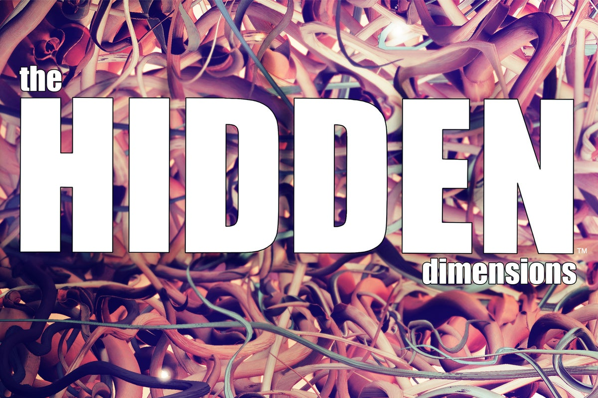 Image of THE HIDDEN DIMENSIONS: Graphic Novel (Printed Edition)