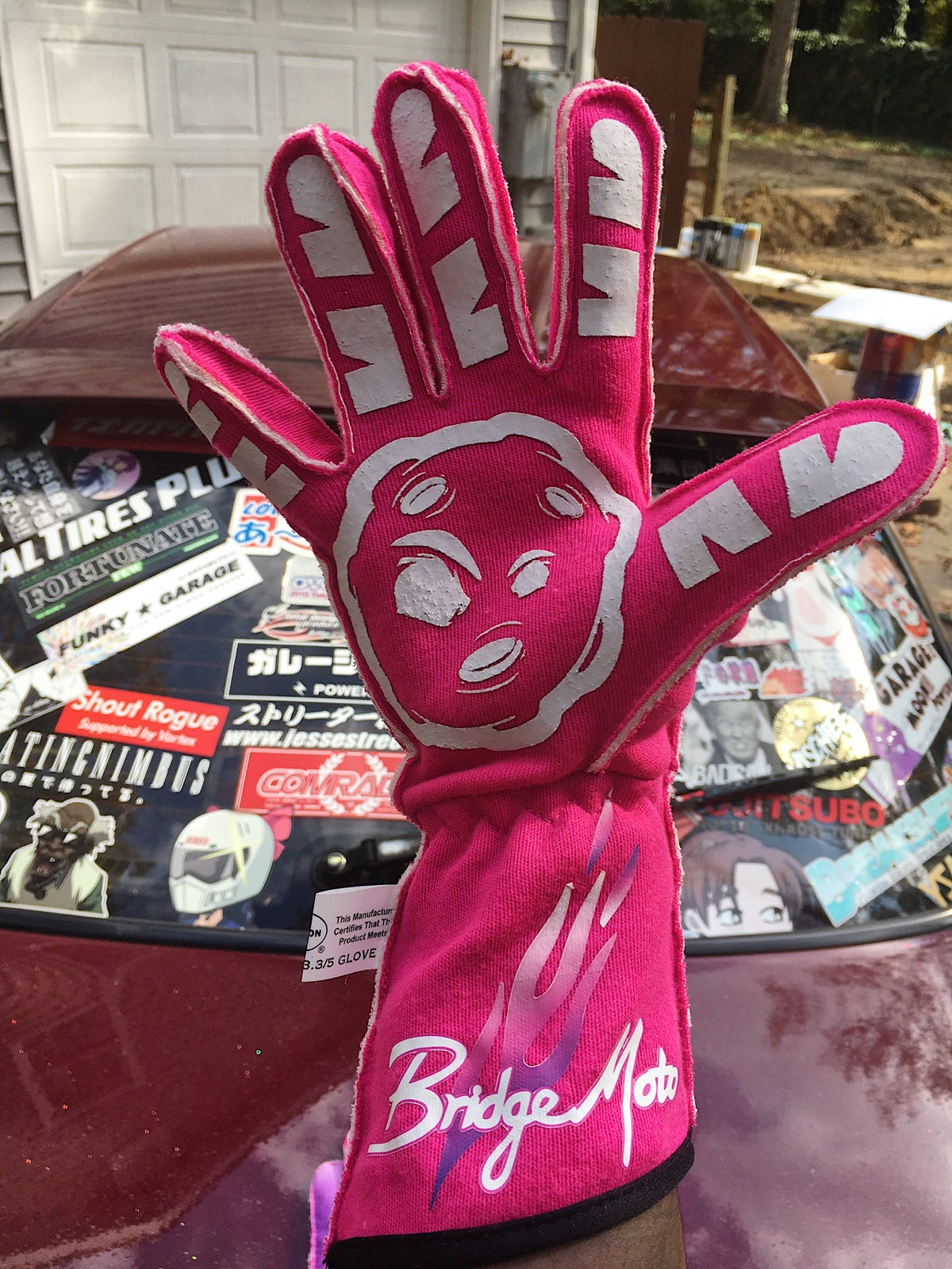 Image of Pink GMP gloves