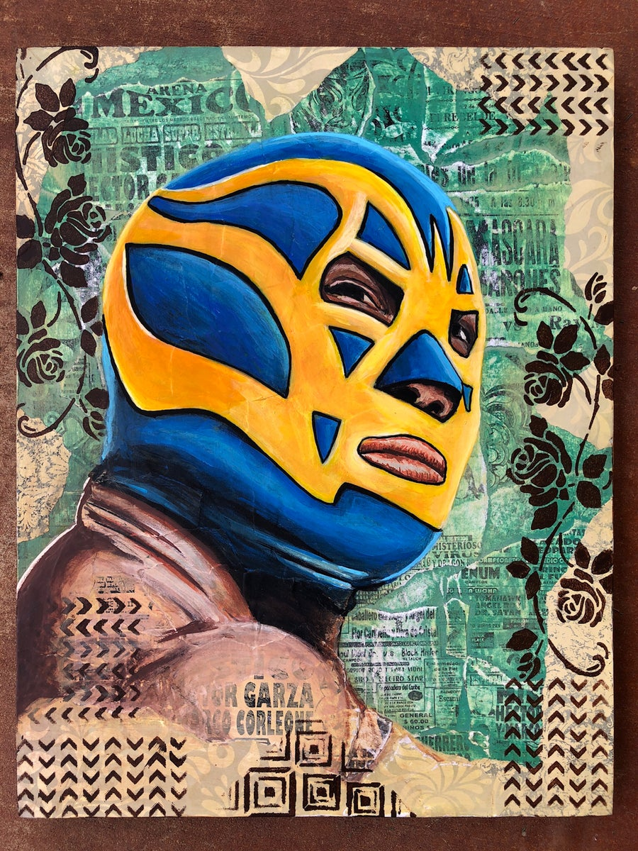 Image of Luchador - Fine Art Print
