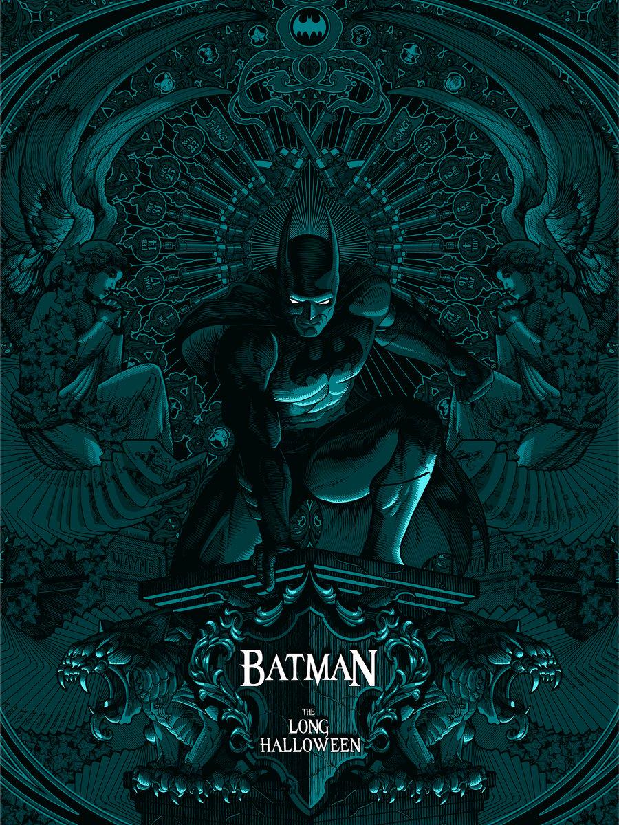 Batman The Long Halloween Limited Edition Print Variant