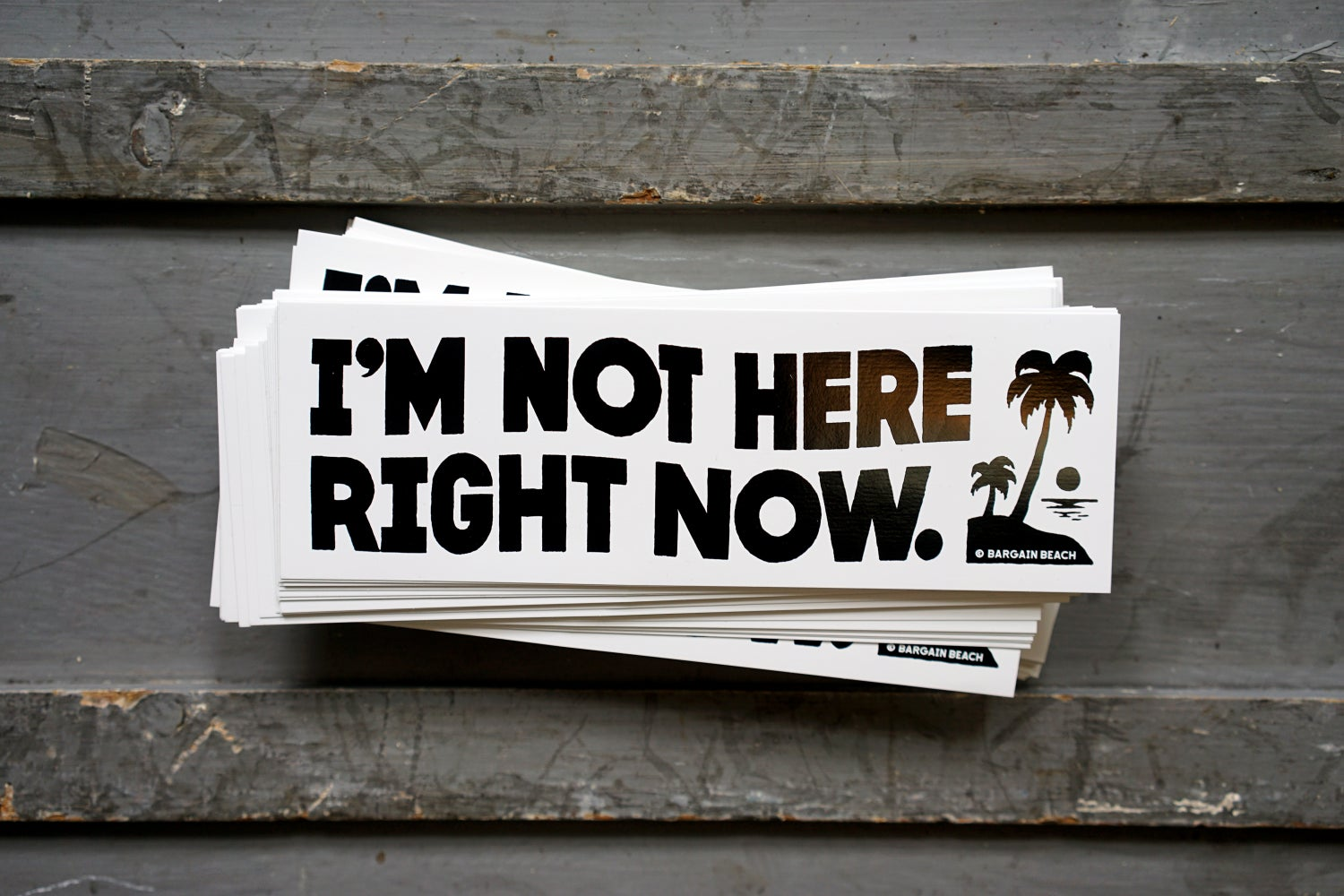Image of I'm Not Here Right Now