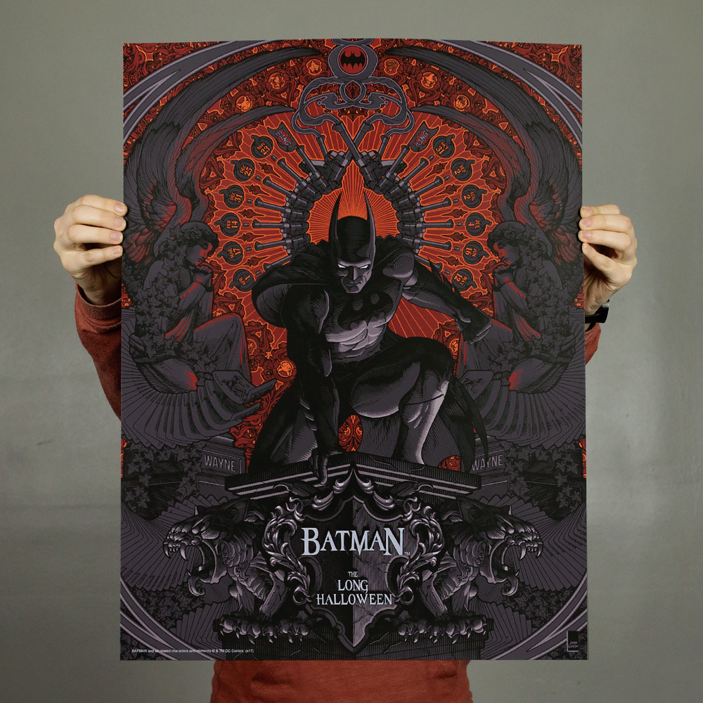 Image of Batman: The Long Halloween Limited Edition Print
