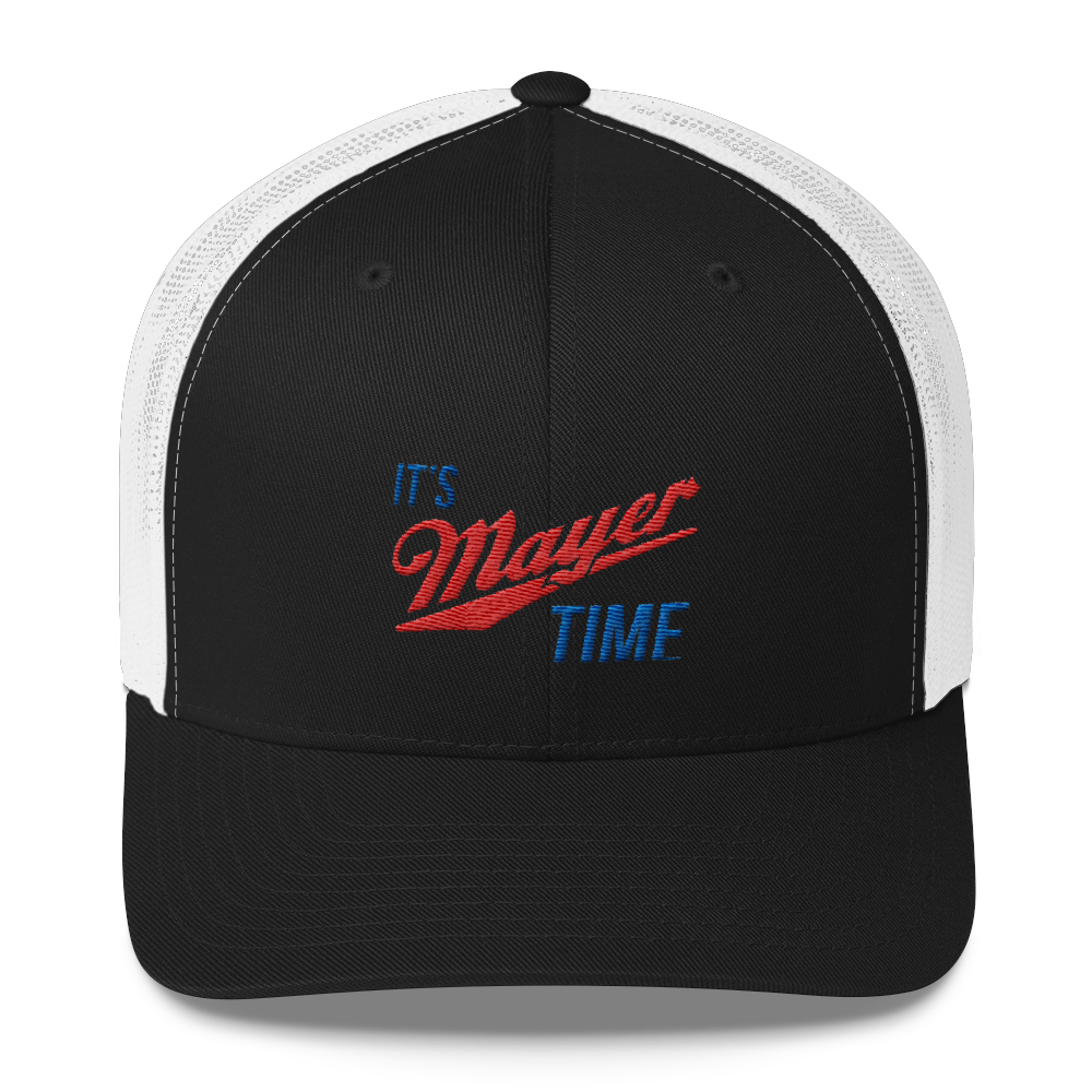 It's Mayer Time Embroidered Trucker Cap