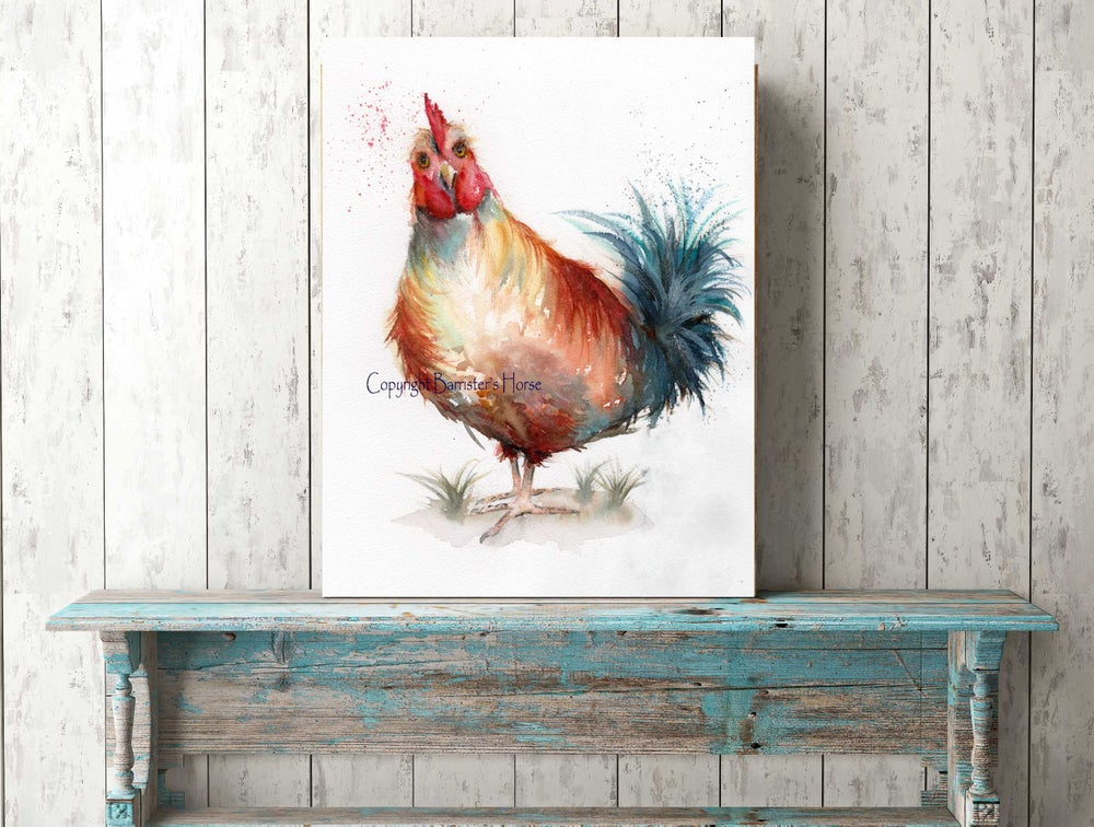 Image of HEN, FINE ART PRINTS