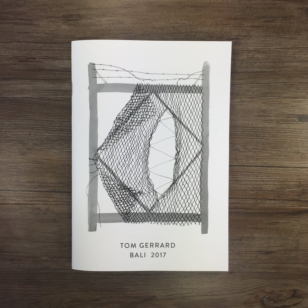 Image of AEON / TOM GERRARD ZINE.
