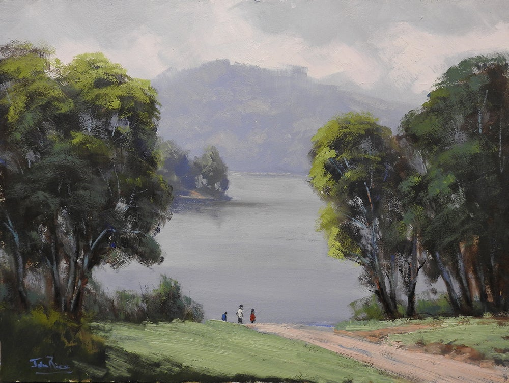 Image of Rainy Morning, Lake Lyell