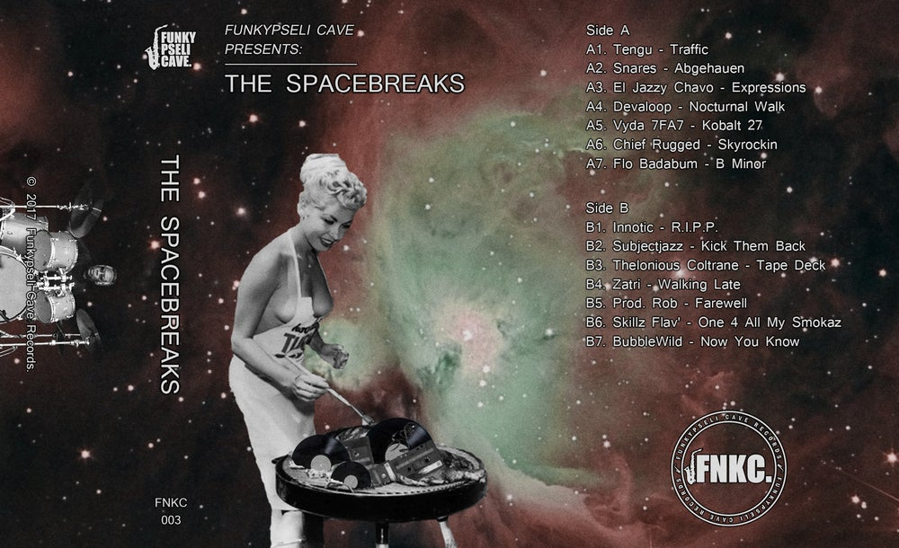 Funkypseli Cave presents: The Spacebreaks (Cassette)