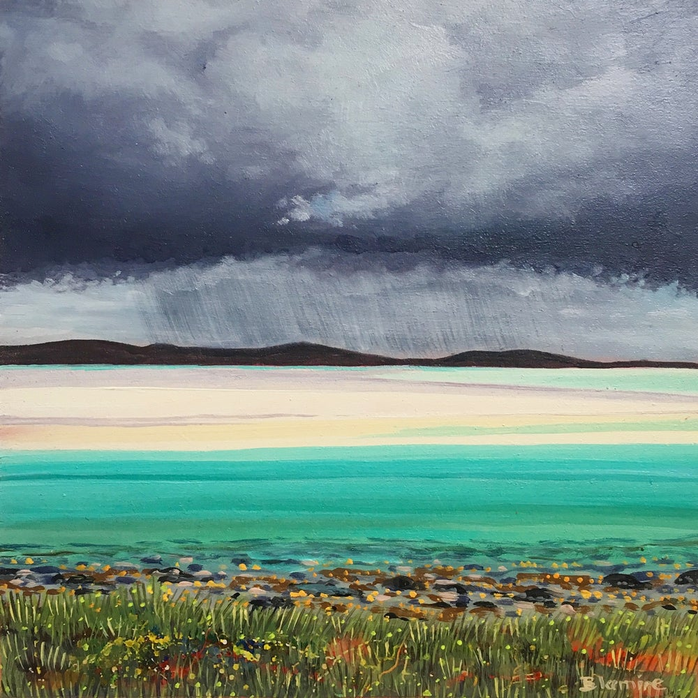 Image of North Uist rain cloud small giclée print