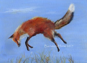 Image of JUMPING FOX, FINE ART PRINTS