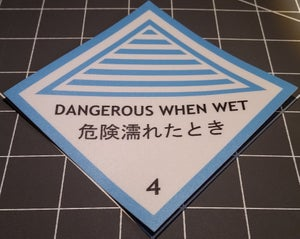 Image of Dangerous When Wet