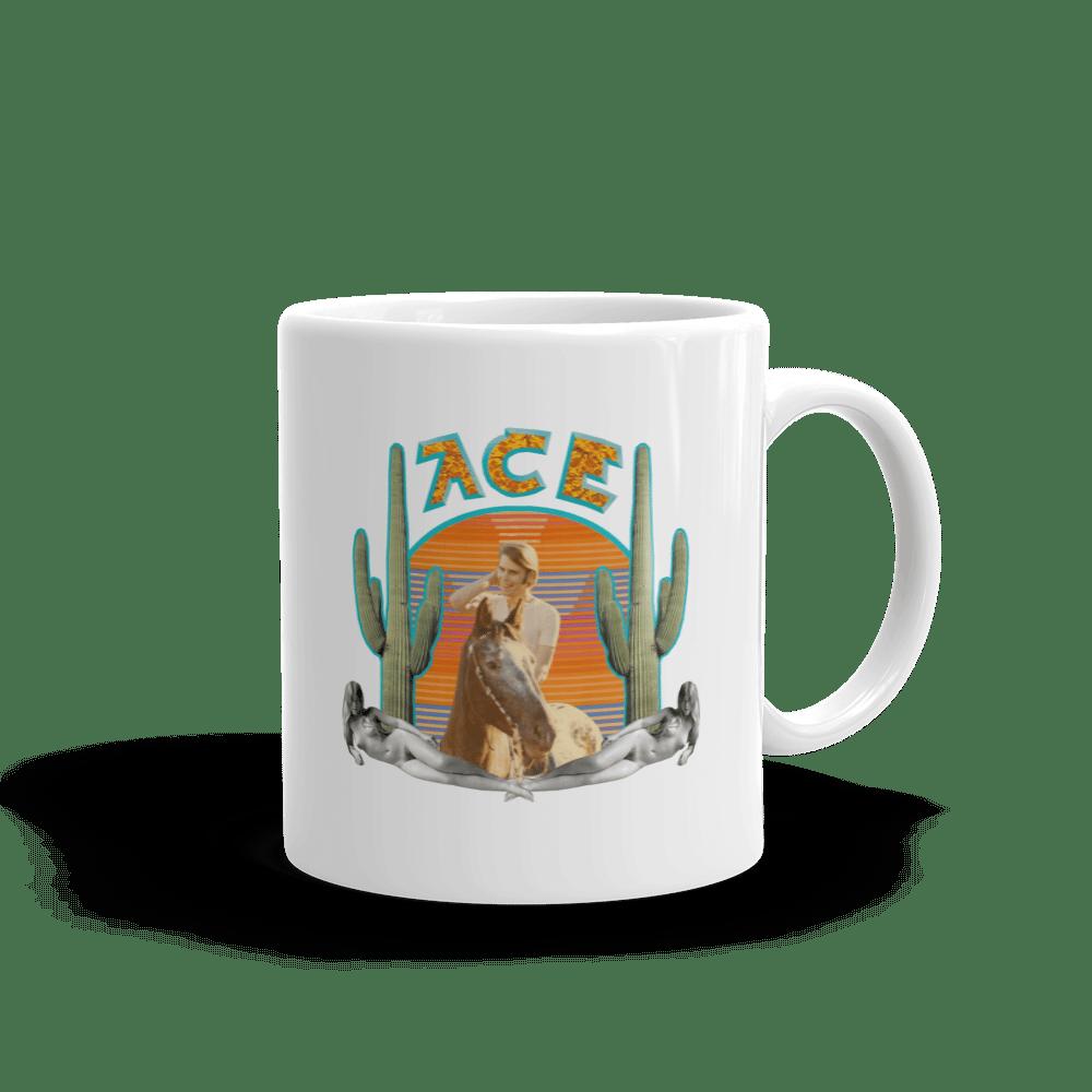 """Ace"" Ceramic Coffee Mug"