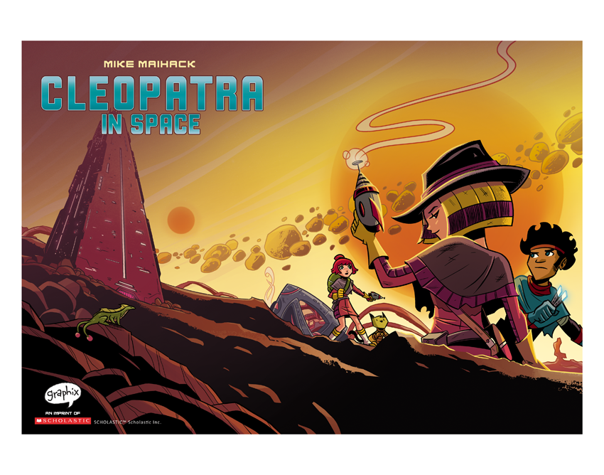 Image of Cleopatra in Space #3 Cover