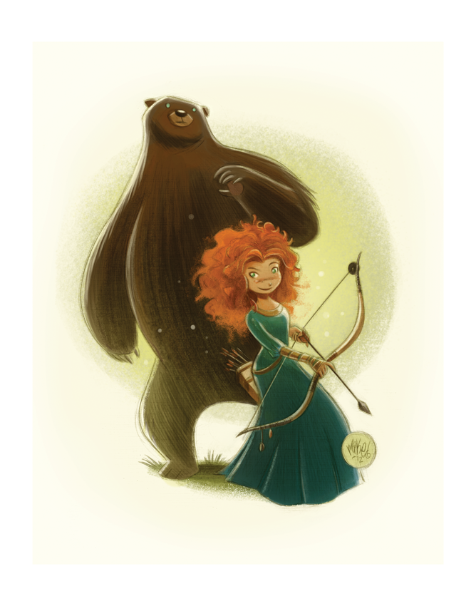 Image of Merida (Brave)