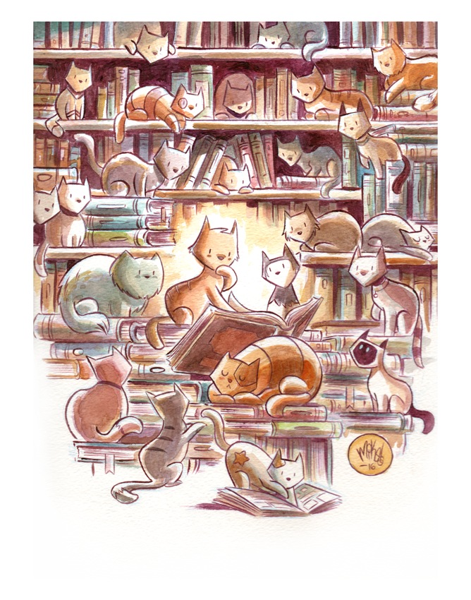 Image of Cat Library