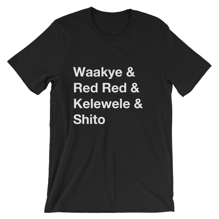 Image of Ghanaian foods T-shirt