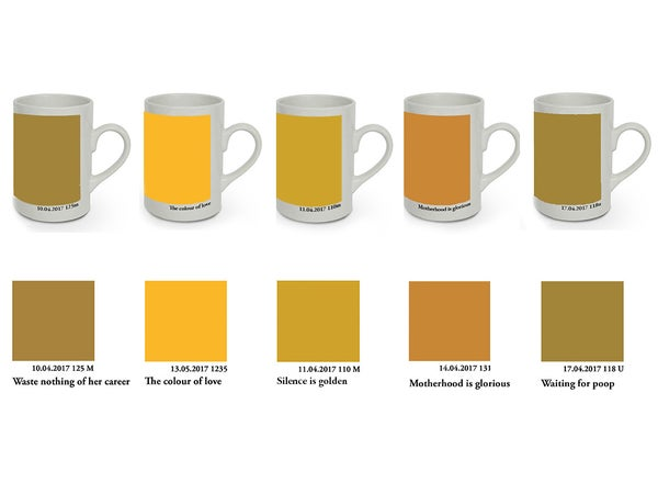 Image of The Pantone Poop Colour Mug