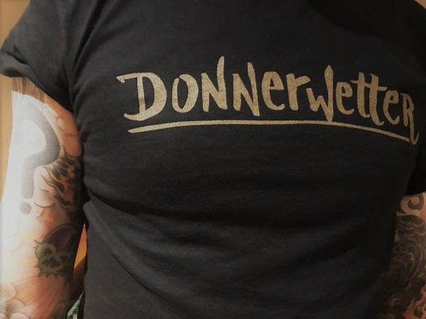 Image of Donnerwetter Classic Gold/Black T-shirt
