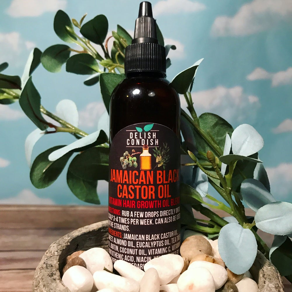 Image of Jamaican Black Castor Vitamin Hair Oil