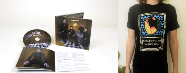 Image of CD & T Shirt - Donnerwetter - Pavlov Beauty Saloon Package