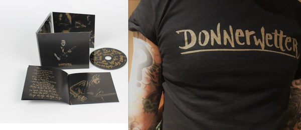 Image of CD & T Shirt Donnerwetter Deluxe Package