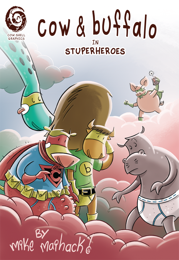 Image of Cow & Buffalo in Stuperheroes