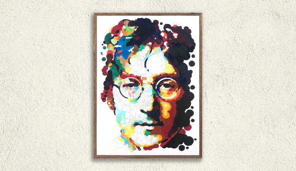Image of John Lennon – Painted Querkle