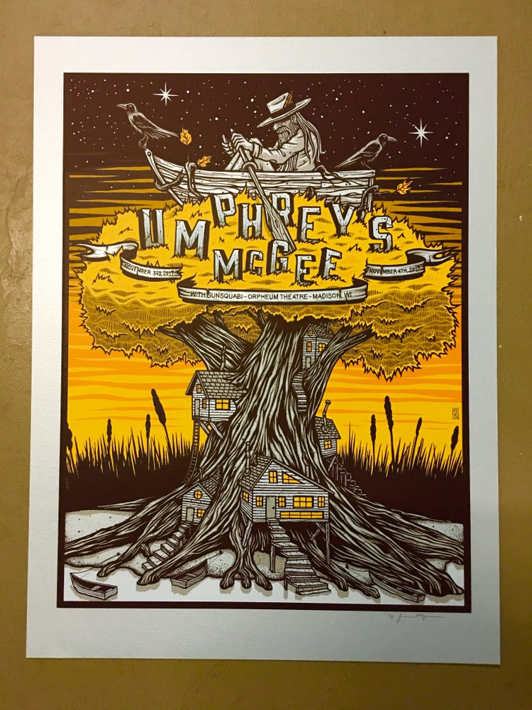 Image of Umphrey's McGee - November 3rd & 4th 2017 - Madison, WI - Blue Pearlescent Variant