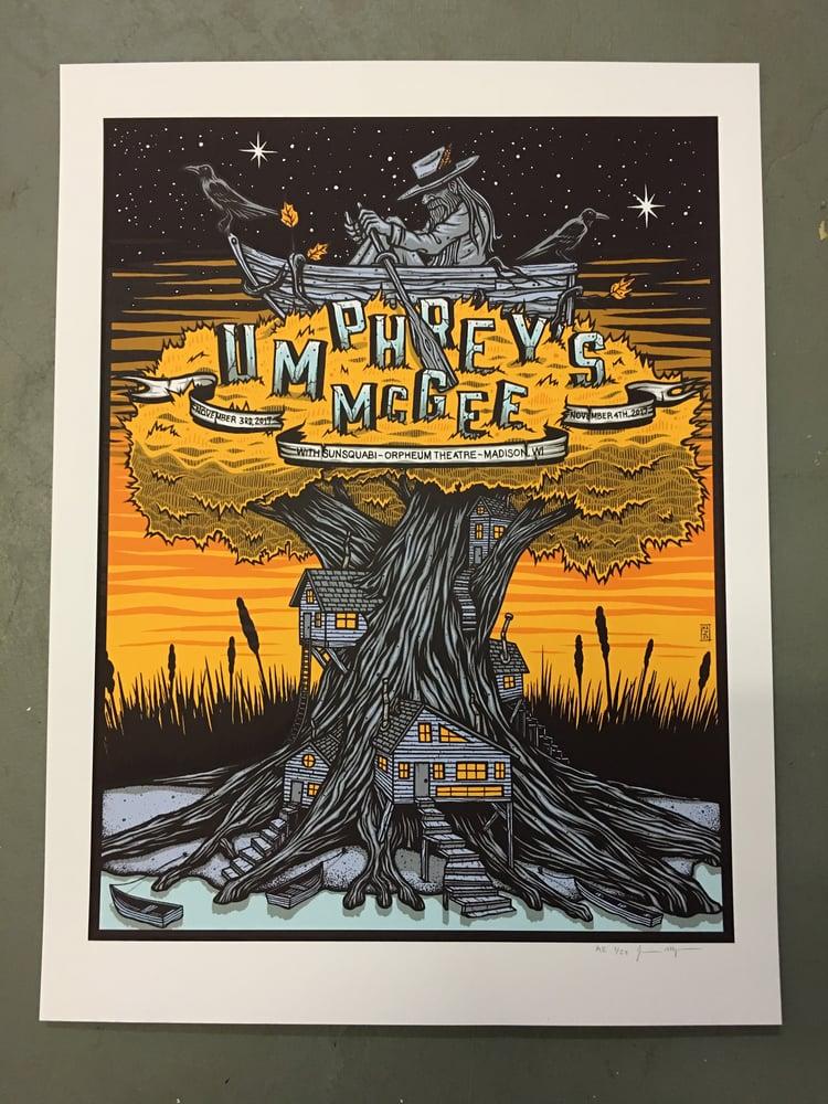 Image of Umphrey's McGee - November 3rd & 4th 2017 - Madison, WI - Artist Edition