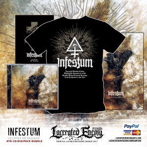 Image of INFESTUM - Ayn CD / Digipack Bundle