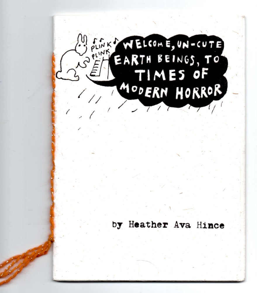 Image of Welcome, uncute earth beings, to times of modern horror