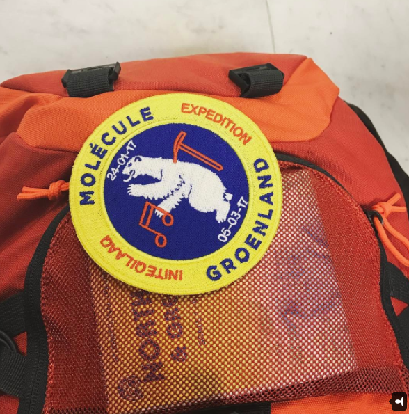"Image of Molecule's ""Greenland Expedition Patch"" by Bonhomme"