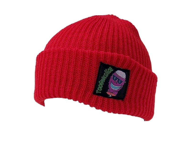 Image of Braindead Yeti Watch Cap (Ketchup)