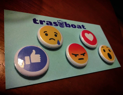 Image of Facebook React Magnets