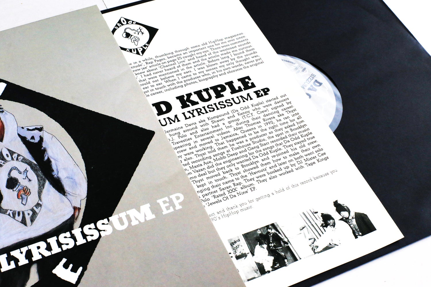 Image of Da Odd Kuple - Bizzum Wit Sum Lyrisissum EP