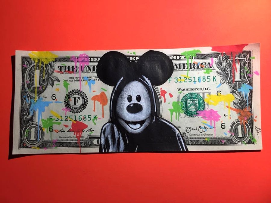 Image of Funny Money Money Art