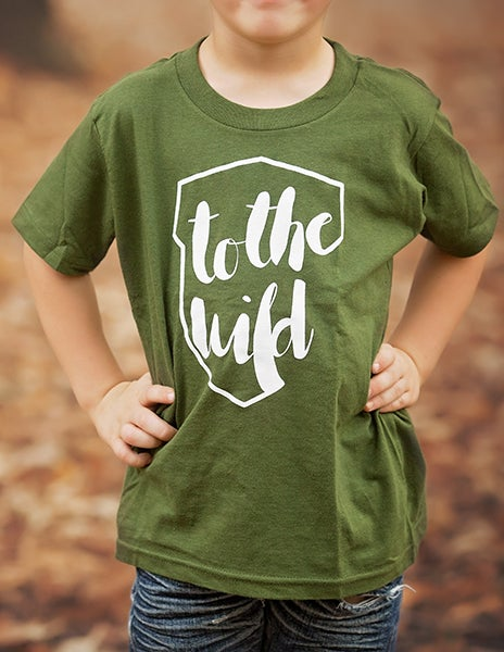 Image of Wild Explorer T-Shirt - Olive