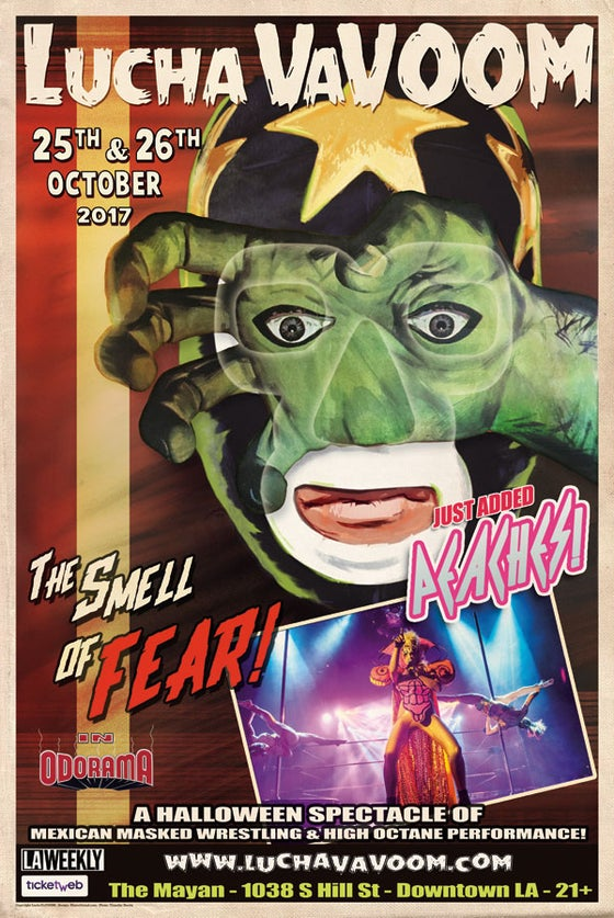 "Image of Halloween 2017 Poster ""The Smell Of Fear"""