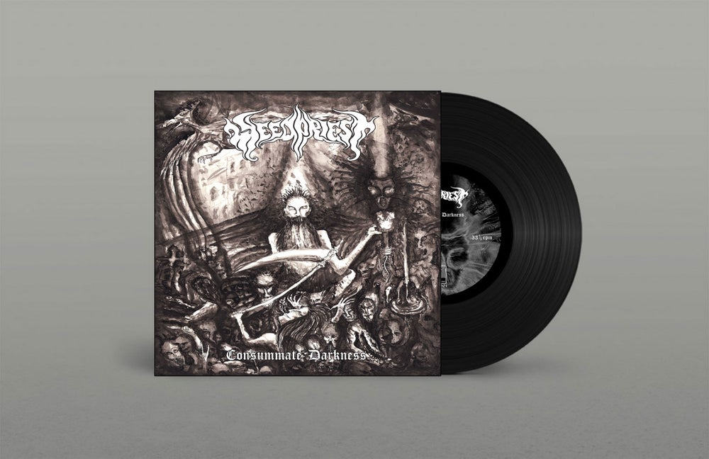 "Image of Weed Priest ""Consummate Darkness"" Vinyl"