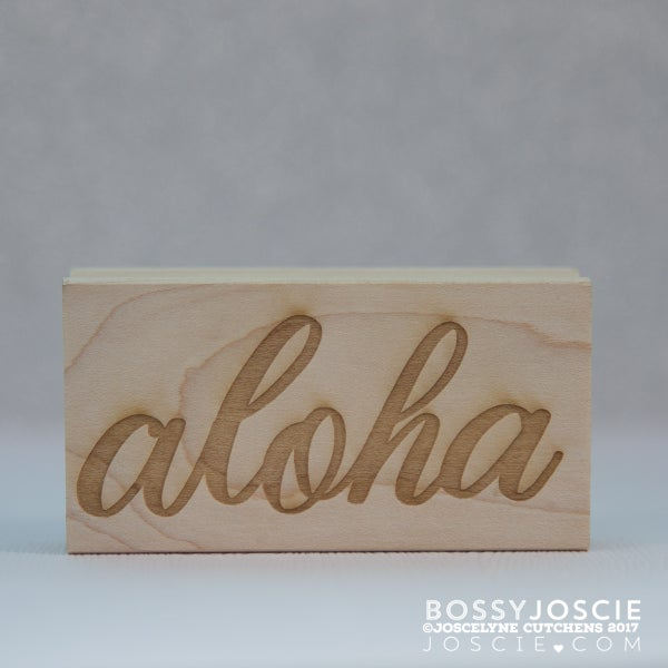 Image of Large Aloha Stamp