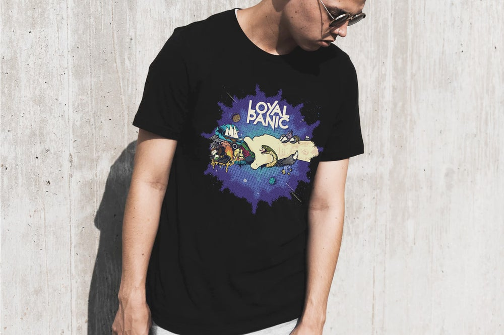 Image of Loyal Panic EP Black T-Shirt
