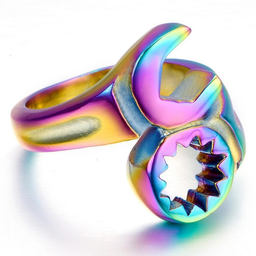 Image of Neo Chrome Wrench Ring