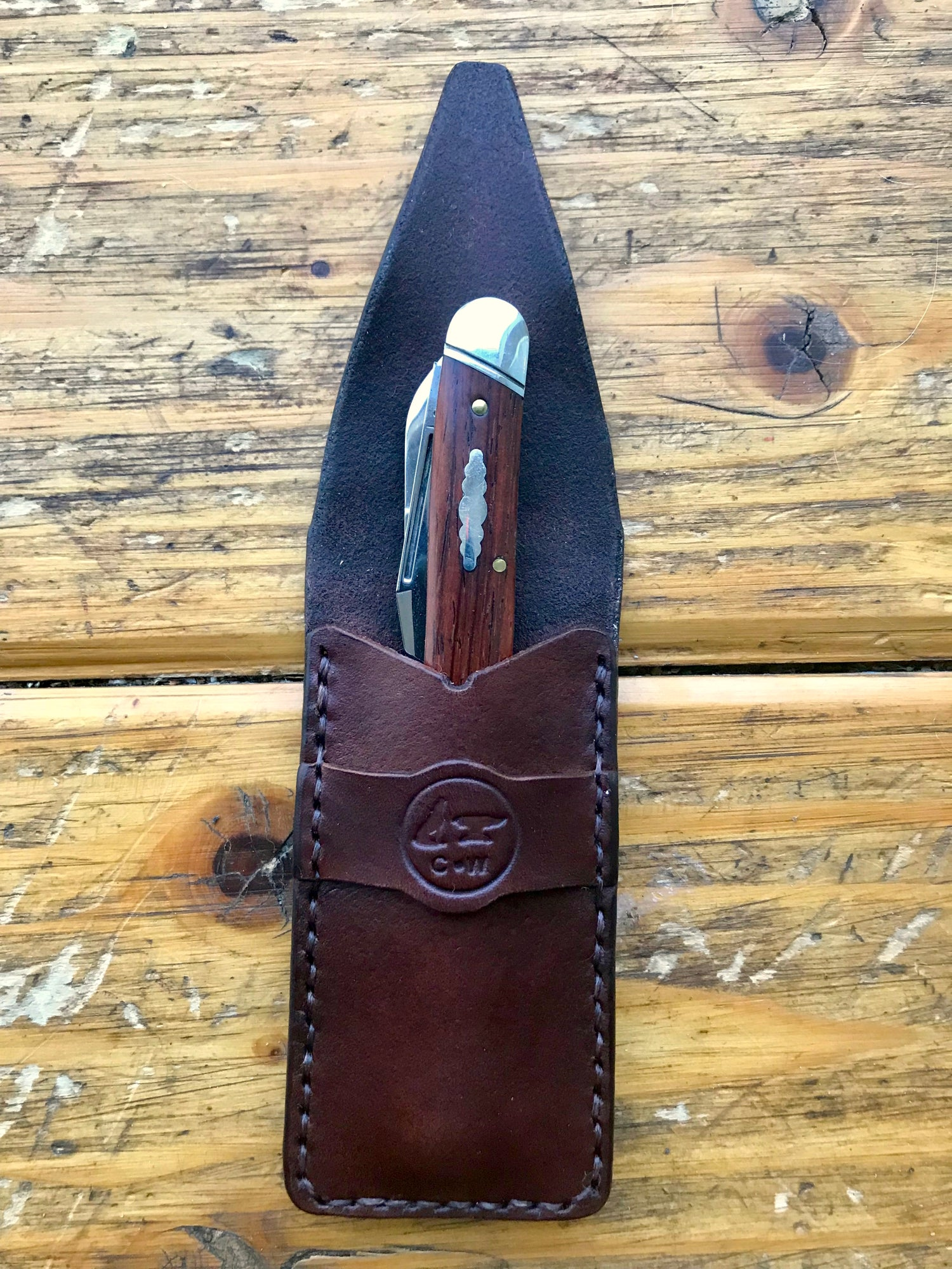 Image of Folding Knife Pocket Slip/Sheath