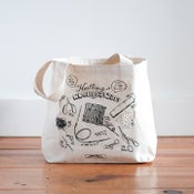 Image of Knitting Necessities tote bag