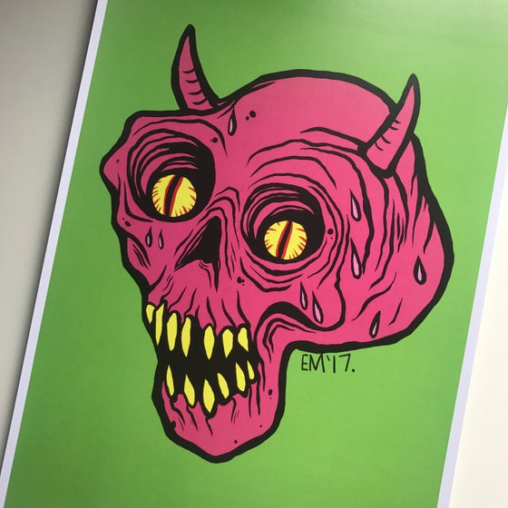 Image of Devilish A4 Print