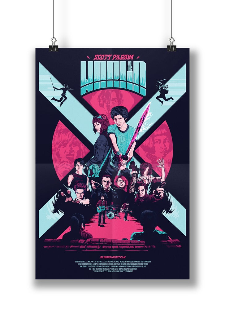Image of Scott Pilgrim vs The World  |  24x36