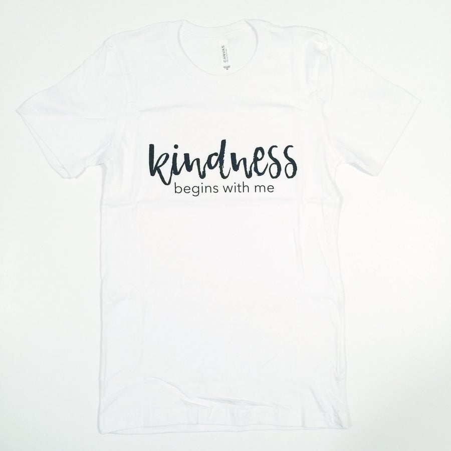 Image of KINDNESS BEGINS WITH ME TEE
