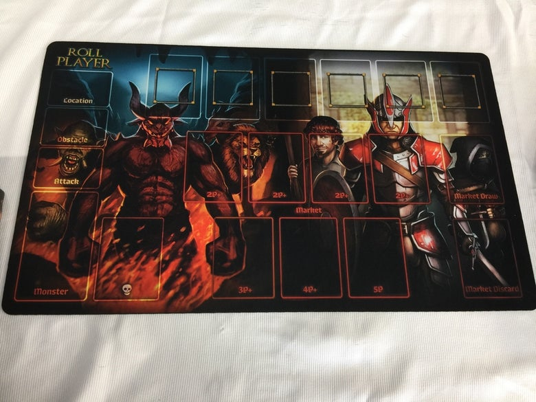 Image of Roll Player Playmat