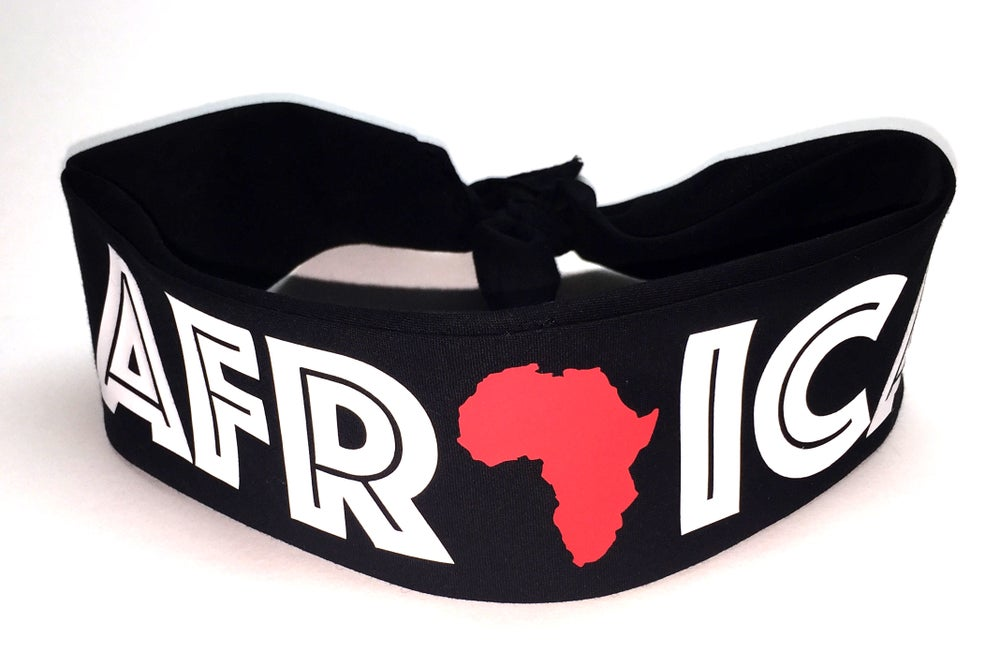 "Image of World Tour ""Africa"" Bandana Black"