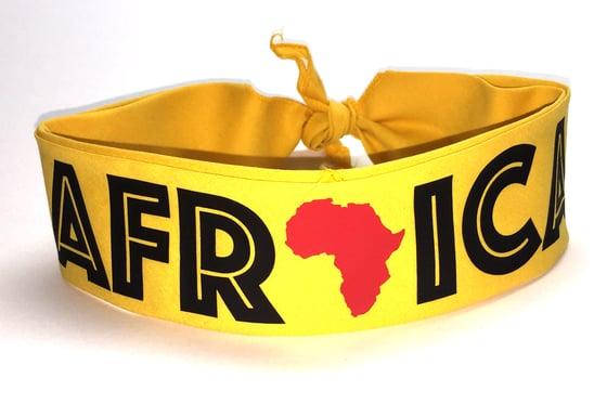 """Image of World Tour """"Africa"""" Bandana Gold"""